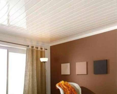 40. Aposte no forro de PVC para o teto da sua casa