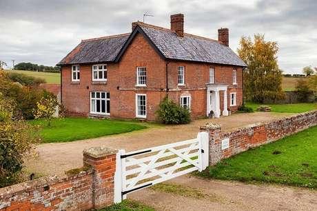 57. A famosa construção em tijolinho para casa de fazenda. Fonte: Pinterest