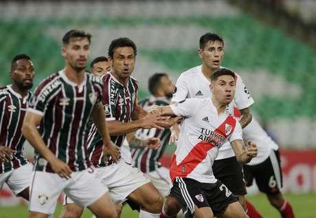 Fluminense empata com o River Plate em volta a Libertadores