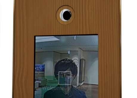 Equipamento de reconhecimento facial  06/01/2021 REUTERS/Kim Kyung-Hoon
