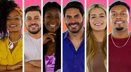 Participantes do 'BBB 21' que teve sua estreia em 25 de janeiro, com 20 participantes.
