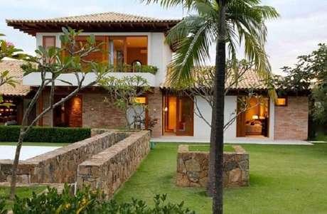 63. Casa de fazenda com arquitetura moderna. Fonte: Pinterest