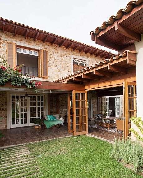 99. Casa da Fazenda rústica – Foto Casa de Valentian
