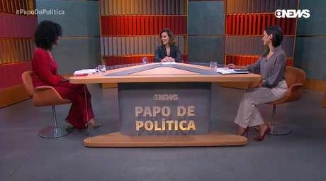 Maju Coutinho, Natuza Nery e Julia Duailibi na GloboNews: conversa interessante sobre os bastidores da política toda quinta à noite