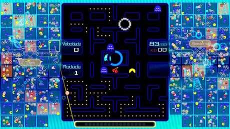Frutas em Pac-Man 99