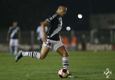 Léo Jabá jogou toda a segunda etapa da partida do Vasco contra o Boavista (Rafael Ribeiro/Vasco)
