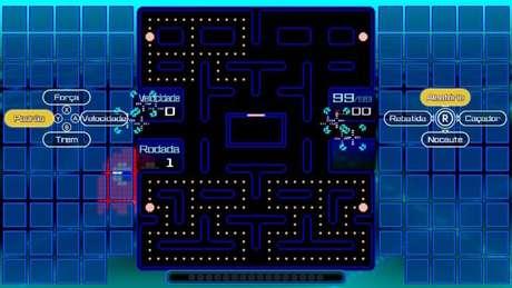 Habilidades em Pac-Man 99