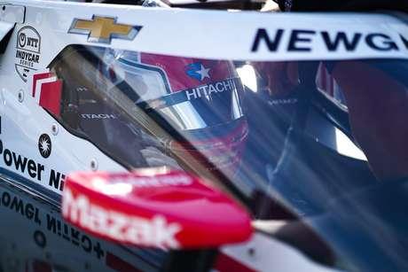 Josef Newgarden ficou em terceiro na classificação