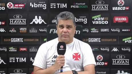 Técnico valorizou espaço dedicado para testar a base (Foto: Reprodução/Vasco TV)