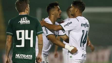 Willian, autor do segundo gol, se tornou o 46º maior artilheiro do Palmeiras (Cesar Greco / Palmeiras)