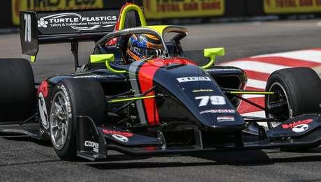 O americano de origem lituana foi o grande nome da Indy Lights neste domingo em St. Pete