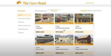 Compre seus esquemas através da rede The Open Road e faça muito dinheiro com a venda de produtos