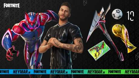 Fortnite terá traje e itens de Neymar Jr. nesta semana