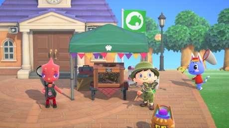 Torneio de caça em Animal Crossing: New Horizons
