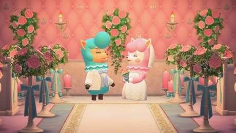 Temporada de casamentos retorna para Animal Crossing: New Horizons