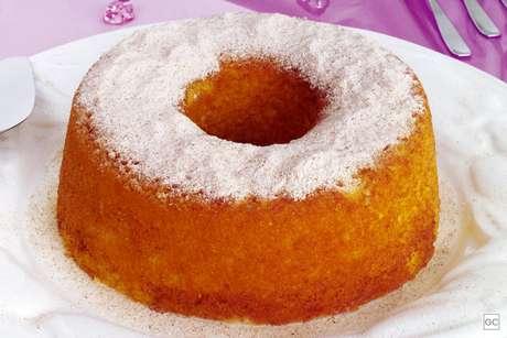 Guia da Cozinha - Receita de bolo de iogurte para o café da manhã