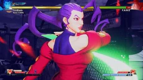 Rose marca presença em Street Fighter V