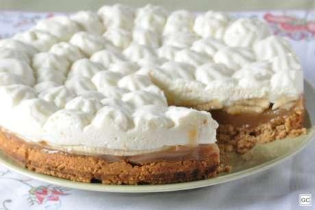 Guia da Cozinha - Receita prática e fácil de fazer de Banoffee, uma tradicional torta inglesa