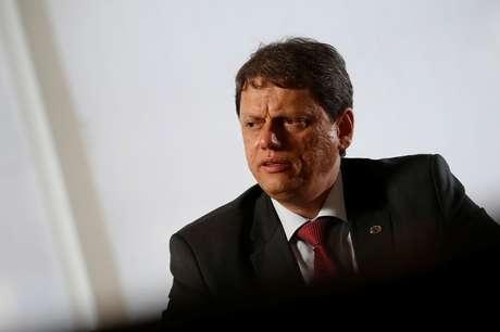 Tarcísio de Freitas, ministro da Infraestrutura  22/01/2019 REUTERS/Adriano Machado
