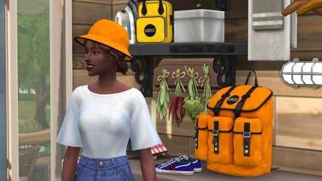 Peças da Gucci em The Sims 4