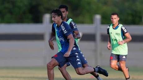 Galarza é a grande surpresa do Cruz-Maltino nesta temporada (Foto: Rafael Ribeiro/Vasco da Gama)
