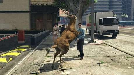 Descubra como virar um animal em GTA 5