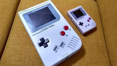 Game Man é quatro vezes maior que o Game Boy