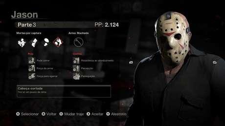 Diversas versões de Jason estão disponíveis