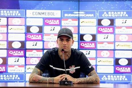 Luan garantiu que dedicação não tem faltado e exaltou a confiança do grupo (Foto: Rodrigo Coca/Ag. Corinthians)