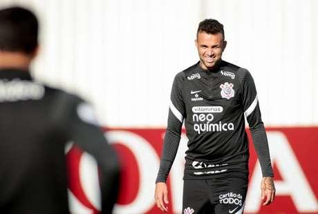 Luan vem recuperando espaço pelo Corinthians (Foto: Rodrigo Coca/Ag. Corinthians)