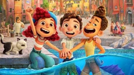Cartaz de'Luca', nova animação da Disney e Pixar