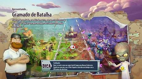 O mapa é um eterno campo de batalha cheio de segredos