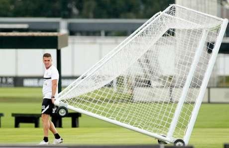 Mancini ainda carrega o peso da pressão em cima de seu trabalho no Timão (Foto: Rodrigo Coca/Ag. Corinthians)