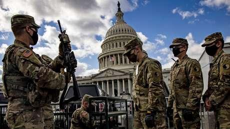 Após invasão de janeiro, Capitólio teve segurança reforçada para discurso de Biden nesta quarta-feira (28/4)