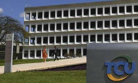 A sede do Tribunal de Contas da União (TCU), em Brasília