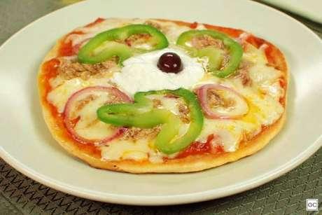Guia da Cozinha - Mini pizza de frigideira para experimentar com a família