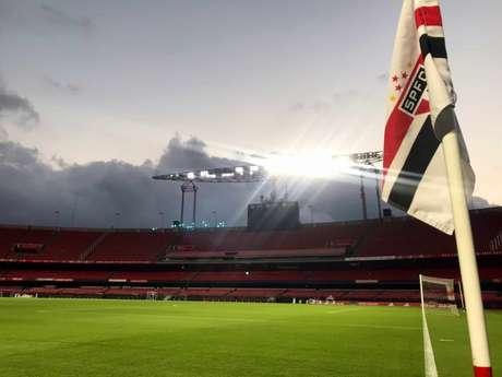 Morumbi é trunfo do São Paulo para vencer na Libertadores (Foto: Twitter/São Paulo FC)