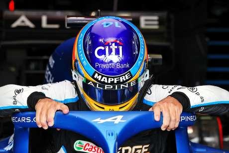 Em Ímola, Fernando Alonso ficou na 10ª posição; seu companheiro de equipe, Esteban Ocon, ficou na 9ª