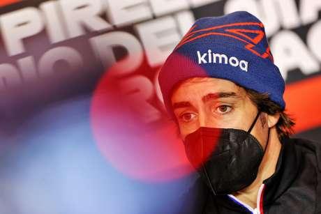 Fernando Alonso em Ímola