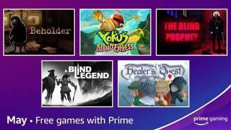 Jogos de maio do Prime Gaming