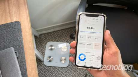 Balança inteligente Huawei Scale 3