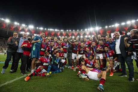 Flamengo foi o campeão da Taça Guanabara e está na semifinal do Cariocão (Foto: Alexandre Vidal / Flamengo)