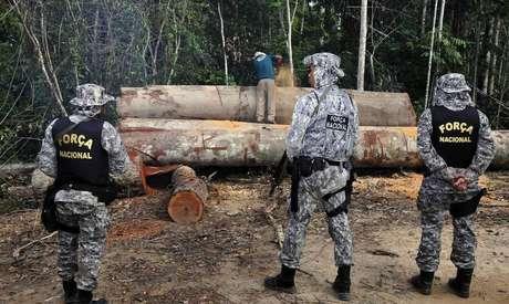 Governo vai destinar multas ambientais da Petrobrás para Força Nacional.