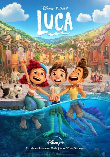 Cartaz de 'Luca', nova animação da Disney e Pixar