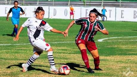 A meio-campista Nayra Pimentinha chegou ao Vasco no ano passado (João Pedro Isidro/Vasco)