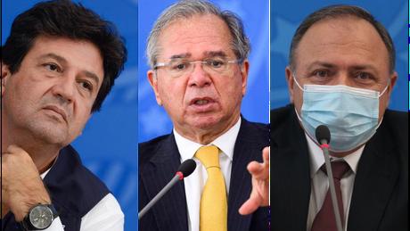 Mandetta, Guedes e Pazuello estão entre as testemunhas que os senadores planejam ouvir na CPI