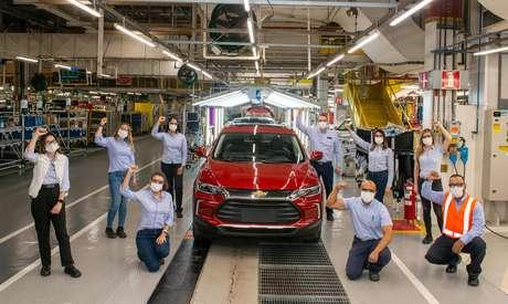 Chevrolet Tracker: 100 mil unidades produzidas.