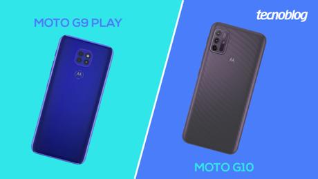 Moto G9 Play ou Moto G10