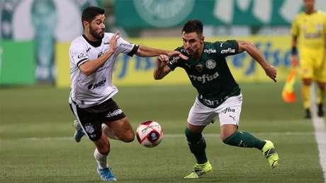 Após golear o del Valle na Libertadores, o Verdão não balançou as redes pelo Paulista (Cesar Greco / Palmeiras)