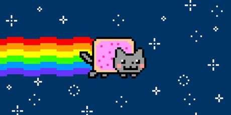 Nyan Cat foi vendido como NFT por quase US$ 450 mil